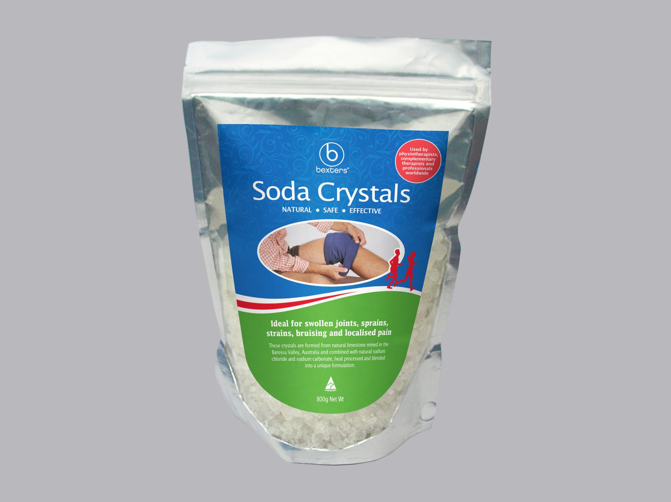 bexters soda crystals 200g bowen supplies by helen. Black Bedroom Furniture Sets. Home Design Ideas