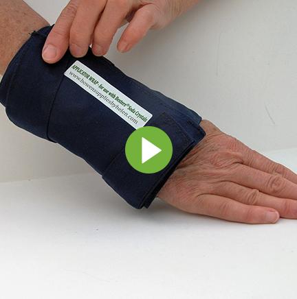 blue-wrist-wrap play button