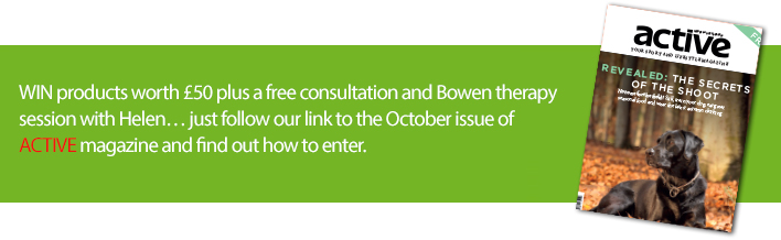 ACTIVE Series - Win FREE Bowen therapy treatment